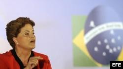 La presidenta de Brasil, Dilma Roussef. Foto de archivo