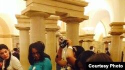 Becarios cubanos en Washington