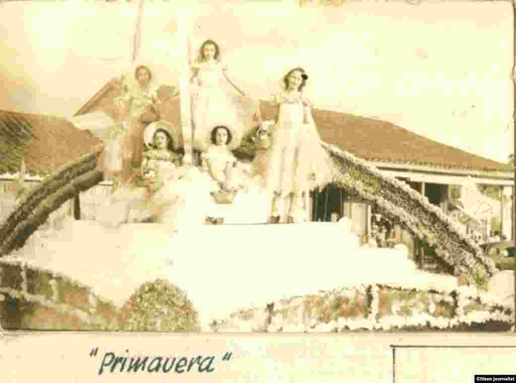 Reporta Cuba Parrandas en Vueltas Siglo XX. Archivo Raúl González.