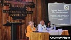 Seminario en Hotel Nacional sobre relaciones con UEE