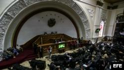 Vista general durante sesión ordinaria del parlamento de Venezuela. (Archivo)