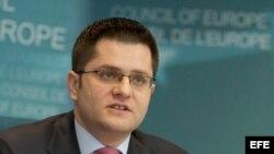El presidente de la Asamblea General de la ONU, Vuc Jeremic.
