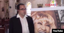 Misa a Celia Cruz en La Habana