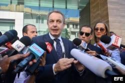 "Expresidente Zapatero expresa ""absoluta necesidad"" de acuerdo en Venezuela."