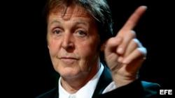 El cantante británico Paul McCartney, en una imagen de archivo.