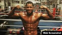 Sullivan Barrera, boxeador cubano.