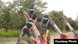 Cohetes Quassam de Hamas.