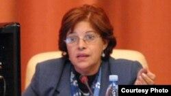Lina Pedraza, ministra cubana de Finanzas y Precios.