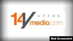 Logo del diario digital de Yoani Sánchez 14ymedio.com.