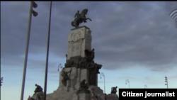 Reporta Cuba. Parque Maceo en La Habana. Tomado de Youtube.