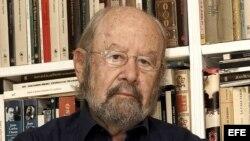 El narrador y poeta José Manuel Caballero Bonald, ganador del Premio Cervantes 2012.