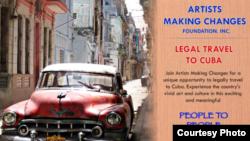 Itinerarios programados: los estadounidenses sólo pueden participar en Cuba en programas dirigidos.