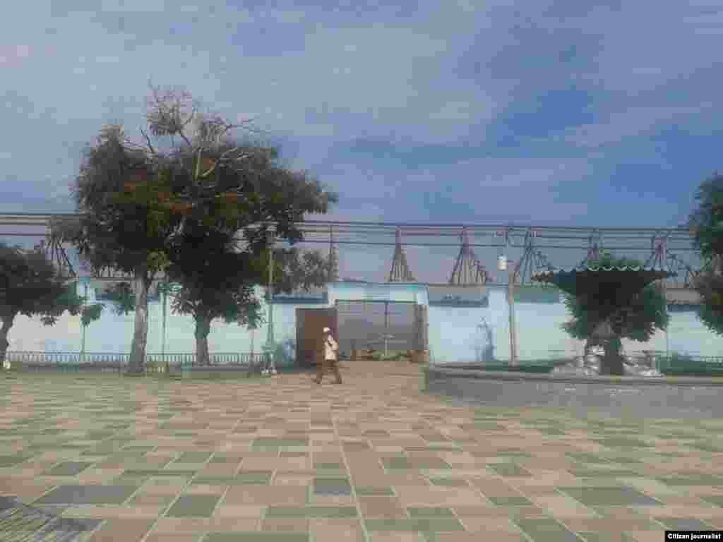 Reporta Cuba después de Sandy Puerto Guillermón Moncada Santiago de Cuba Foto Martah Beatriz Ferrer