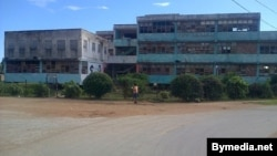 Escuela en ruinas Reporta Cuba Trinidad
