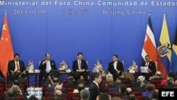 Ceremonia inaugural de la Primera Reunión Ministerial del Foro China y la CELAC en Pekín (China) el 8 de enero de 2015