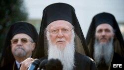 El Patriarca Ecuménico de Constantinopla, Bartolomé.