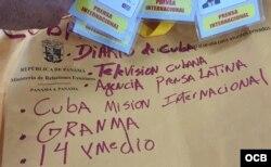 El sobre de la Cancillería panameña reúne a oficialistas e independientes.