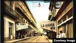 Calle San Rafael de La Habana.
