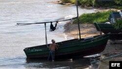 Un pescador cubano