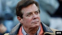 Paul Manafort, exjefe de campaña del ahora presidente Donald Trump.