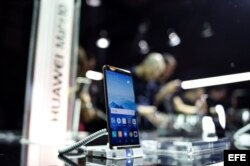 El teléfono inteligente Huawei Mate 10.