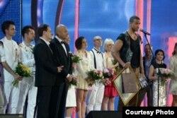 Premiacion del cantante cubano en Jurmala/Foto del concurso New Wave