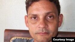 Niover García Fournier, activista de UNPACU, Guantánamo. Cortesía, Hablemos Press.