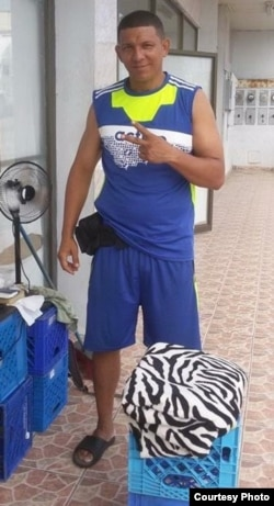 Lisandro Matos, migrante cubano que está desde diciembre en Panamá.