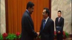 El presidente Maduro se reune con el Premier chino Li Keqiang