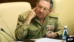 Raúl Castro en la Asamblea Nacional en diciembre de 2007.