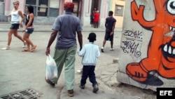 Día de los padres en Cuba.