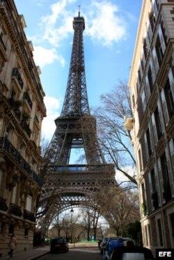 La Torre Eiffel en París, Francia.