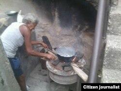 Repora Cuba cocinar con leña foto Yoandri Verane