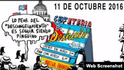 """""""Todos por una Cuba Libre""""."""