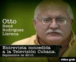 El salvadoreño Otto Rodríguez Llerena testifica contra Posada Carriles en la televisión cubana.