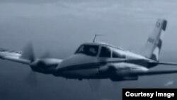 Camilo Cienfuegos volaba en un bimotor Cessna 310 FAR-53.