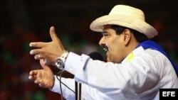 Maduro, el candidato oficialista de Venezuela.