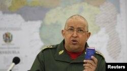 ARCHIVO. Hugo Chavez en Miraflores.