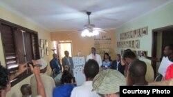 Inauguración del tercer foro Raza y Cubanidad en la sede del CIR, el viernes 30 de noviembre.