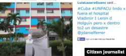 Reporta Cuba Hospital Lenin Holguín @luislazaroguanch.