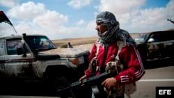 Miliciano libio.