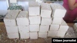 reporta cuba materiales de construcción que usan en Cuba / foto/ cristianosxcuba