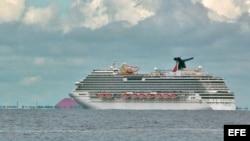 Crucero Carnival Magic impedido de entrar en Cozumel.