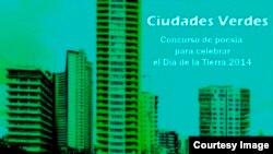 Concurso de poesía Ciudades Verdes