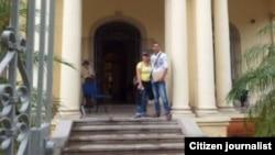 Reporta Cuba. Activistas LGTBI entregaron una carta en el CENESEX para pedir apoyo con la campaña del matrimonio igualitario.