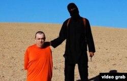 La imagen muestra a Alan Henning como la próxima víctima de EI después del asesinato de su coterráneo David Haines.