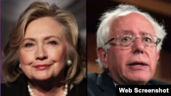 Debate entre la ex Secretaria de Estados Hillary Clinton y el Senador Bernie Sanders.