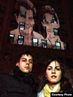 Imagen de Oswaldo Paya y Harold Cepero twitpic de Alexis Romay