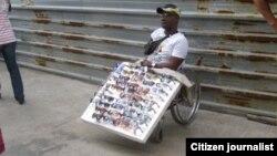 Reporta Cuba. Impedidos físicos desalojados. Foto: Mario Hechavarría.