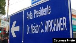 Ave Kirchner en Buenos Aires